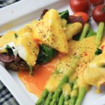 GF Eggs Benedict w/ Ghee Hollandaise