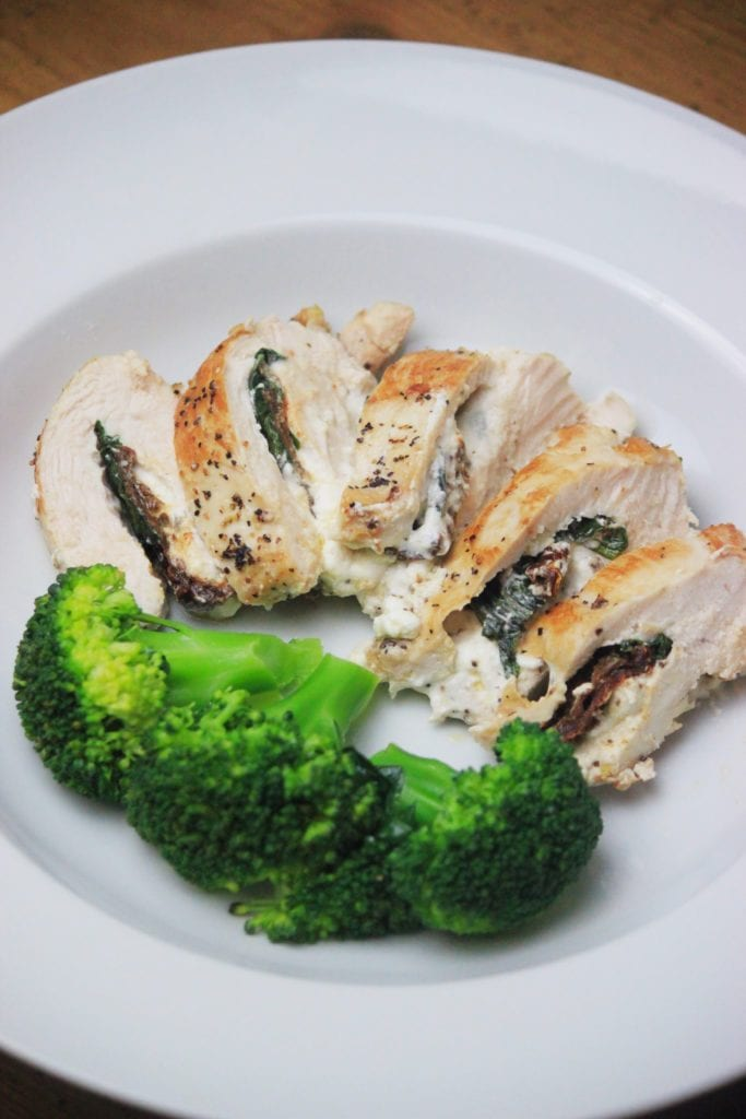 Stuffed Chicken Breasts With Goat Cheese Tomatoes My