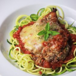 My PCOS Kitchen - Gluten-free Chicken Parmigiana - This low carb chicken parmigiana is the perfect healthy dinner idea!