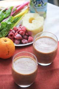 Swiss Chard & Fruit Smoothie