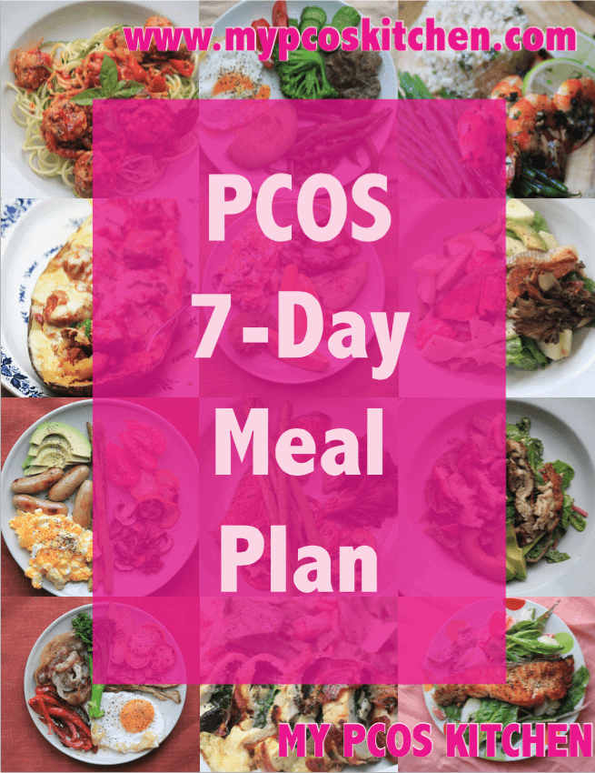 my pcos kitchen pcos 7 day meal plan an introductory meal plan to