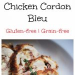 My PCOS Kitchen - Gluten-free Chicken Cordon Bleu - Gluten-free Chicken Cordon Bleu Pan-fried and oven-baked Low-carb Perfect for PCOS