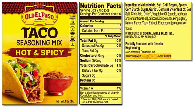 Paleo Taco Seasoning Low Carb Keto Sugar Free Starch Free