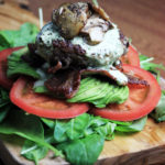 Paleo Low Carb Bacon Avocado Burger