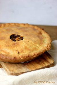 Paleo Tourtiere (Low Carb French Canadian Meat Pie)