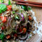Thai Pork Salad with Konjac Noodles