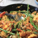 My PCOS Kitchen - Keto Paleo Paella with Cauliflower Rice