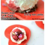 My PCOS Kitchen - Keto Raspberry No-Bake Cheesecake - The most decadent, fluffy cheesecake that is gluten-free, sugar-free and low carb!