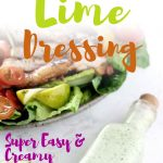 This easy Cilantro Lime dressing is the best Mexican vinaigrette you'll ever make for your keto salads. It's so creamy and healthy, you can make it in less than 5 minutes. Serve with your favorite salad or over fish tacos!