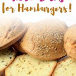 These easy keto buns are the best tasting gluten free buns you'll ever need in your life. So simple to make, these homemade gluten free buns taste much better than store bought bread. Use this paleo bread recipe to make your favorite burger recipes.