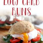 You won't believe these low carb buns are grain free! They're just too delicious to be keto! This easy keto buns recipe is to die for, it's just like multigrain bread. Try these gluten free buns with burgers, hot dogs or sandwiches. #ketobuns #ketobread #glutenfreebread