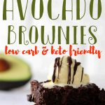 You won't believe how gooey and fudgy these avocado brownies are. These are simply the best keto brownies made with chocolate chips, avocado and almond flour. You'll absolutely love the creaminess the avocado brings in these low carb brownies. #avocadobrownies #brownies #mypcoskitchen