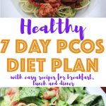 You'll love using this PCOS Meal plan! It's so easy to follow and has delicious and healthy recipes! This weekly meal plan is an introduction to low carb eating for beginners and you'll find simple recipes for breakfast, lunch and dinner. All recipes come with macros and a grocery shopping list.