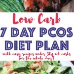 This delicious low carb 7 day PCOS diet plan comes with easy recipes all under 50g net carbs for the whole day. It's the perfect low carb meal plan for weight loss and it's super easy to follow. You'll find low carb recipes for breakfast, lunch and dinner that are moderate to high in protein and high in fat.