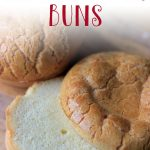 These almond flour buns are legit the easiest low carb bread recipe you'll ever make. Made grain free, gluten free and dairy free, you can make these healthy buns in less than 25 minutes. Made with a mix of almond flour, eggs and oil, use these keto buns on your favourite burgers and sandwiches.