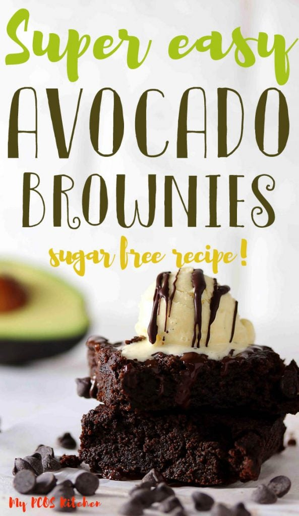 These sugar free chocolate avocado brownies are made gluten free, sugar free and grain free. So delish and easy to make, you'll want to make these low carb brownies recipe every week. Make these healthy brownies for any celebrations or just for a snack or dessert.