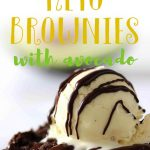 You won't believe how fudgy and gooey these keto brownies are. Thanks to the avocado, these low carb brownies are to die for. Made with almond flour and chocolate chips, this a simple and delish brownie recipe to make!