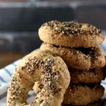 My PCOS Kitchen - Dairy-free Keto Bagels - These bagels are gluten-free, wheat-free and starch-free! Perfect for breakfast or lunch!