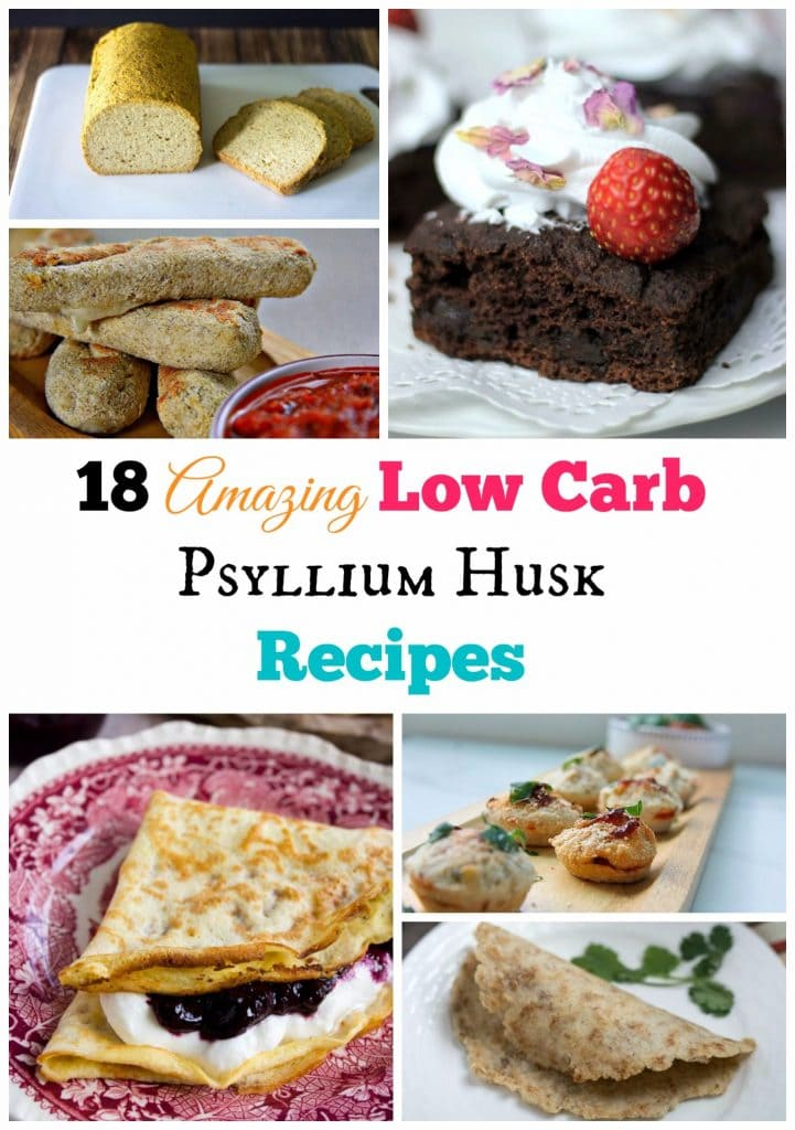 My PCOS Kitchen - Low Carb Keto Psyllium Baked Goods Recipe Round Up