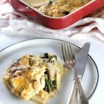 Low Carb Chicken & Parsnips Casserole