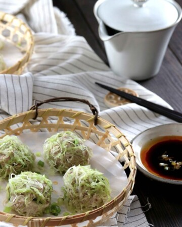 My PCOS Kitchen - Keto Paleo Shrimp & Pork Shumai - These delicious gluten-free, soy-free, starch-free shumai are the perfect Chinese dinner!