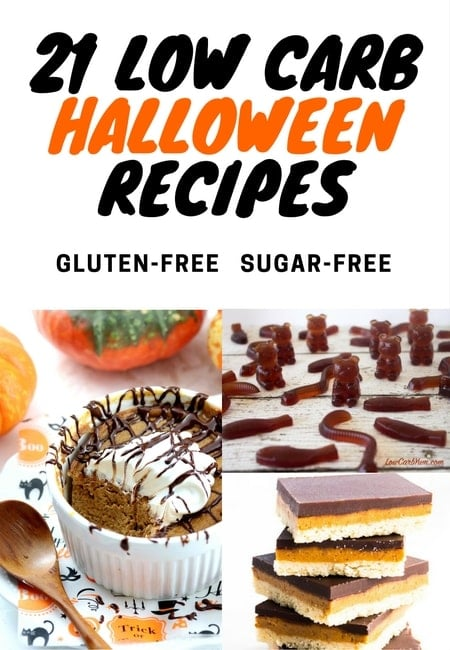 My PCOS Kitchen - 21 Low Carb Halloween Recipes - A handy list of low carb