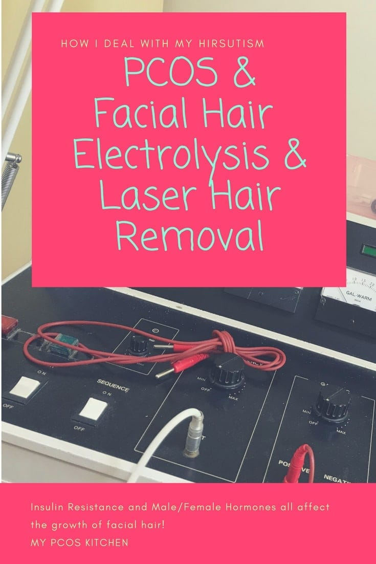 Pcos Facial Hair Electrolysis How I Deal With It Hirsutism