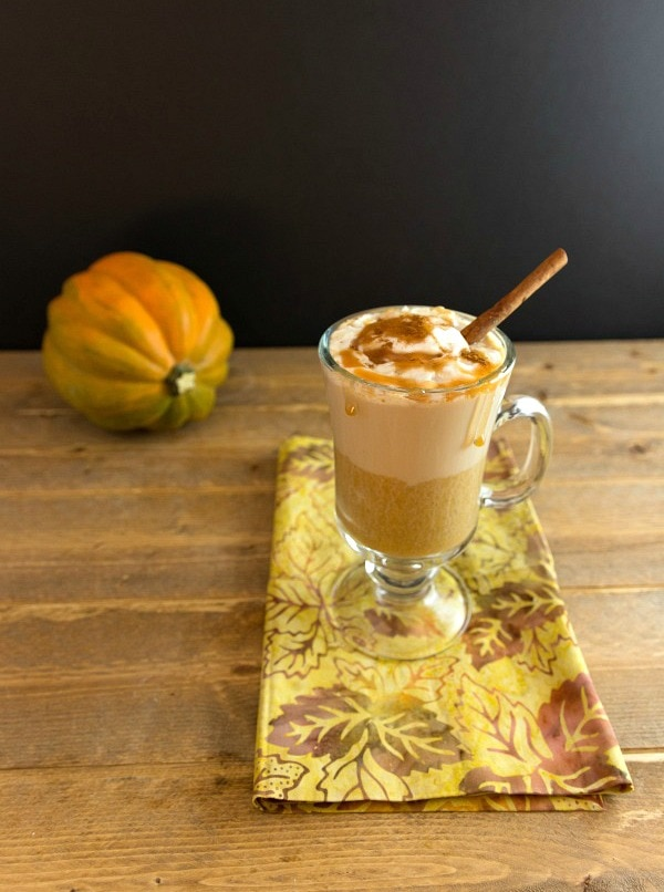My PCOS Kitchen - Beauty and the Foodie - 40+ Low Carb Thanksgiving Recipes - Low Carb Pumpkin Caramel Latte