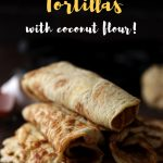 Seriouslt the best keto tortillas recipe out there. Soft, stretchy and chewy, you'll love making these coconut flour tortillas. Due to the psyllium husk, these easy wraps are delicious and better than store bought kinds! #ketotortillas #tortillas #ketorecipe #lowcarbtortillas #mypcoskitchen