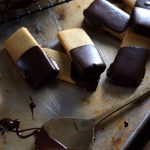 Low Carb Shortbread Cookies with Chocolate