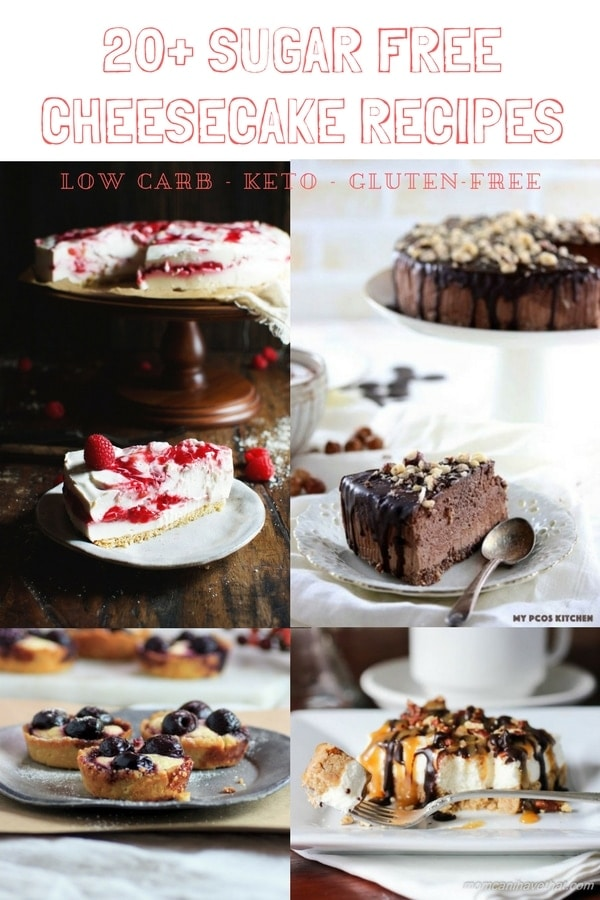20+ Sugar Free Cheesecake Recipes - Low Carb & Keto - My PCOS Kitchen