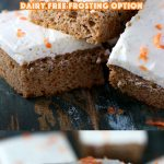 Sugar Free Carrot Cake - My PCOS Kitchen - A delicious keto and paleo carrot cake that is completely gluten-free and dairy-free! #carrotcake #paleo #keto #lowcarb #glutenfree #sugarfreecake