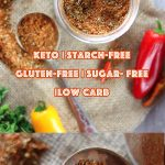 Low Carb Paleo Taco Seasoning - My PCOS Kitchen - A delicious low carb, keto and paleo version of taco seasoning that doesn't use any starches, sugars or unhealthy oils. #glutenfree #tacoseasoning #paleo #lowcarb #keto #tacos #fajitas #tacospice