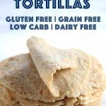 These super stretchy tortillas are all gluten free, starch free and low carb! They won't break or rip apart! #ketodiet #tortillas #glutenfreerecipe #lowcarbrecipe #mypcoskitchen
