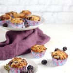 Low Carb Keto Muffins with Blackberries
