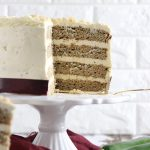 Keto Healthy Zucchini Cake with Cream Cheese Frosting