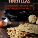 These amazing coconut flour tortillas are soft, flexible and stretchy! You won't need any gluten to make these authentic tasting tortillas #tortillas #lowcarbtortillas #coconutflour #mypcoskitchen