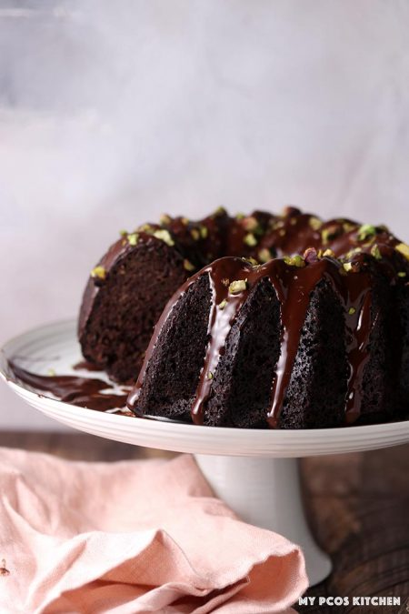 Low Carb Keto Chocolate Zucchini Cake Recipe