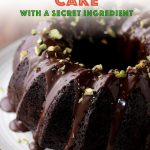 My easy keto chocolate cake recipe is filled with healthy zucchini making it super moist and crumbly! It's coated with a dairy free chocolate ganache and is completely sugar free. Made with almond flour, you'll love this simple low carb chocolate cake recipe. #lowcarbcake #chocolatezucchinicake #ketodessert #mypcoskitchen
