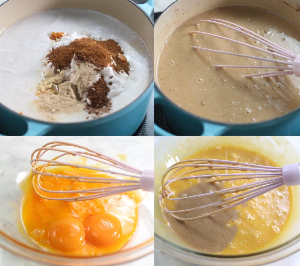Image showing how to make sugar free homemade pumpkin ice cream.