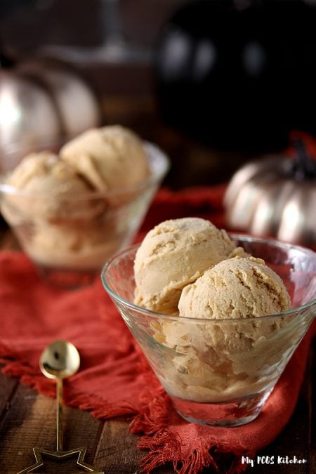Dairy Free Keto Pumpkin Ice Cream Recipe