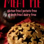 This keto meat pie recipes is made with the best gluten free pie crust that's super flaky and made with the best ground meat filling! This traditional French Canadian recipe is perfect for Thanksgiving and Christmas. #glutenfreepiecrust #meatpie #tourtiere #mypcoskitchen