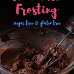 This delicious keto chocolate frosting recipe uses cream cheese and butter to make the best buttercream frosting recipe. Use it on low carb cakes, cupcakes and brownies!
