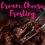 This delicious keto buttercream frosting is so chocolatey and easy to make! Use this sugar free cream cheese frosting for cakes, cupcakes and brownies!