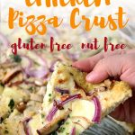 A delicious ground chicken pizza crust made low carb, keto and paleo. This chicken crust recipe has no cheese and no dairy. It's easy to make and super delicious!
