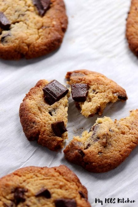 Chewy Keto Chocolate Chip Cookies Recipe
