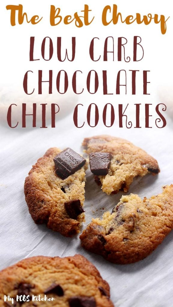 This easy keto chocolate chip cookie recipe is unbelievably chewy and soft. Learn the trick to make the most chewy keto cookies or the most crispy cookies for the ultimate sugar free treat. Sweetened with allulose and sukrin gold, you won't ever want to try another low carb chocolate chip cookie recipe again.